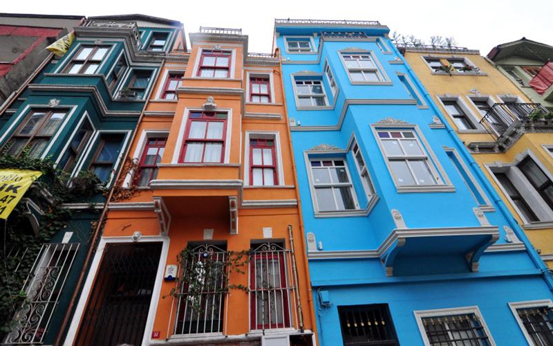 Renkli Evler/Bekri Mustafa Sokak