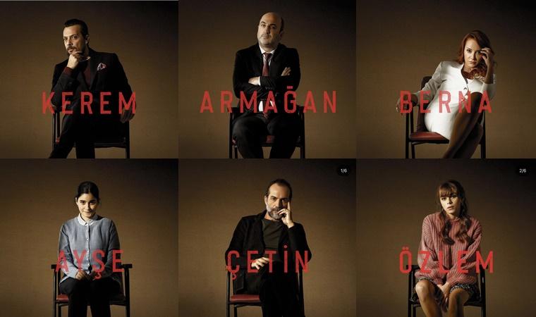 Terapist dizi karakterleri